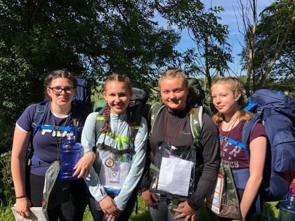DofE Bronze 2019 Girls
